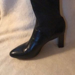 Cole Haan Shoes - Cole Haan tall black leather boots